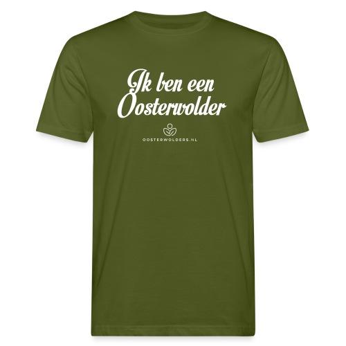 Ik ben een Oosterwolder - Mannen Bio-T-shirt