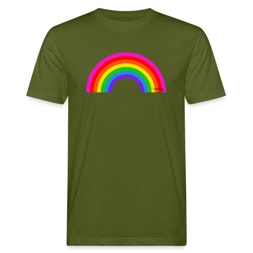 Rainbow - Miesten luonnonmukainen t-paita