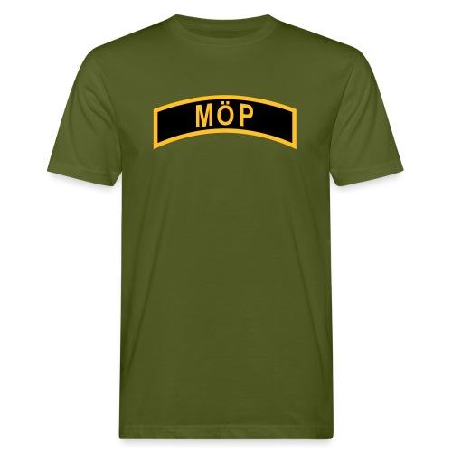 Militärt Överintresserad Person - MÖP-Båge - Ekologisk T-shirt herr