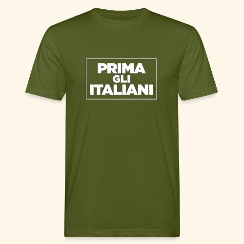 Prima gli italiani - T-shirt ecologica da uomo