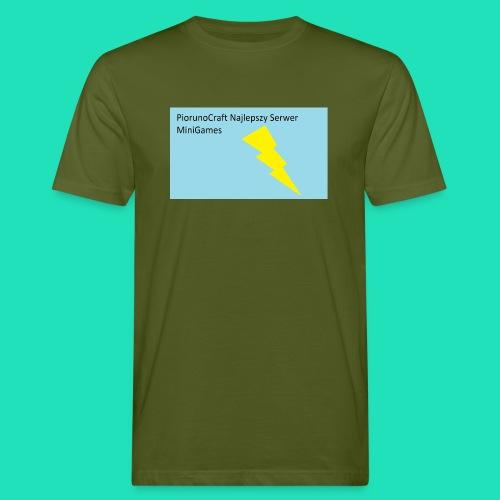 Piorunowe Na Telefon 5s - Ekologiczna koszulka męska