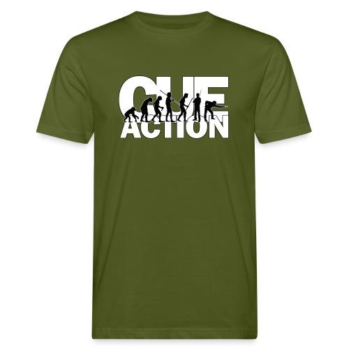 CueAction Evolution - Männer Bio-T-Shirt