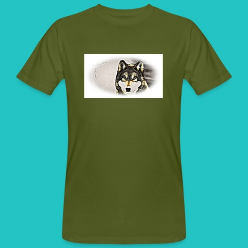 Bluza Wilk - Ekologiczna koszulka męska