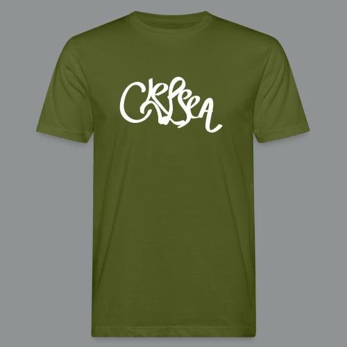 Vrouwen shirt (rug) - Mannen Bio-T-shirt