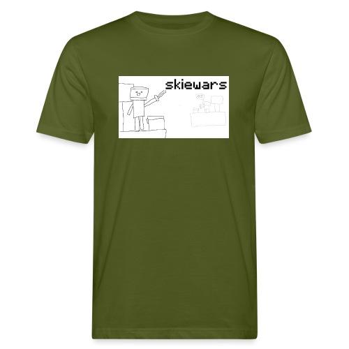 SKIEWARS - Mannen Bio-T-shirt