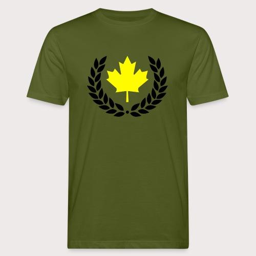 Canada Yellow - Männer Bio-T-Shirt