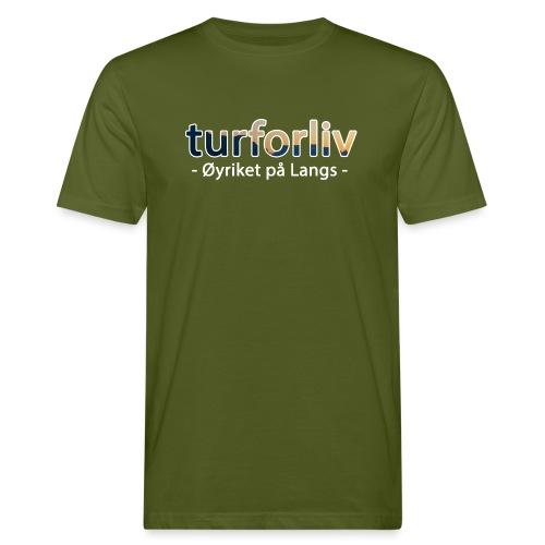 Øyriket - Økologisk T-skjorte for menn