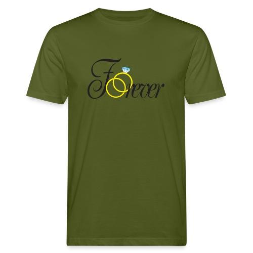 Forever Ringe. Für immer mit Ringen! - Männer Bio-T-Shirt