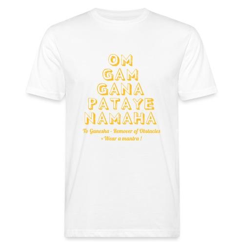 OM GAM GANAPATAYE - T-shirt ecologica da uomo