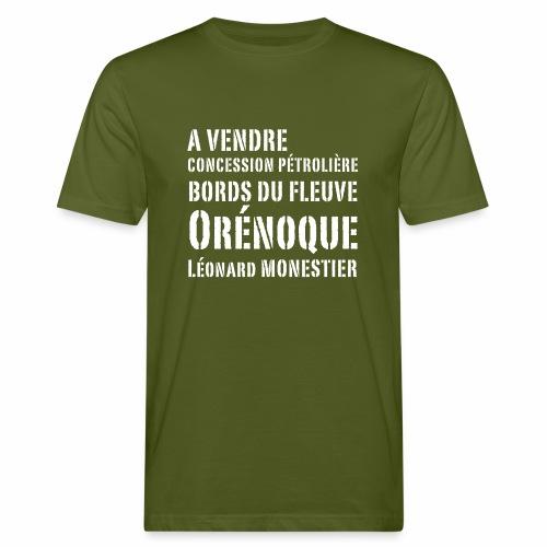 Une concession dans l'Orénoque ! - T-shirt bio Homme