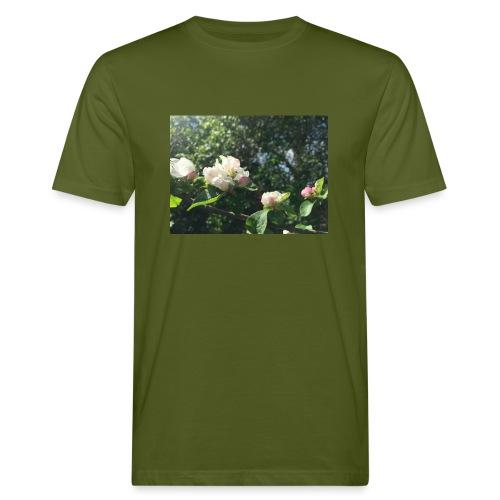 The Flower Shirt - Æbleblomster - Organic mænd