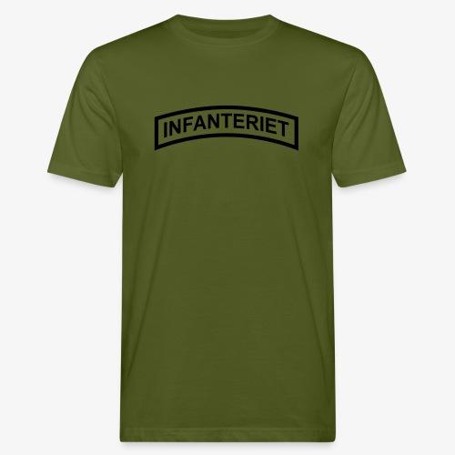 INFANTERIET enfärgad - Ekologisk T-shirt herr