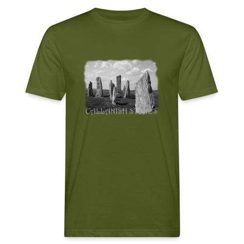 CALLANISH STONES #1 - Männer Bio-T-Shirt