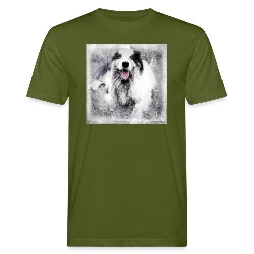 Cody bw - Männer Bio-T-Shirt