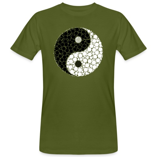 Yin/yang - Männer Bio-T-Shirt
