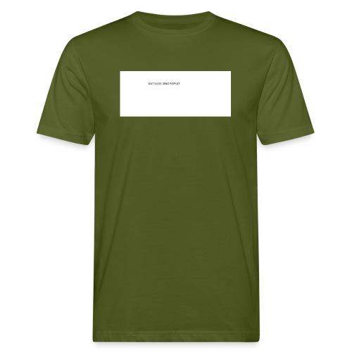 eat sleep sing - Men's Organic T-Shirt