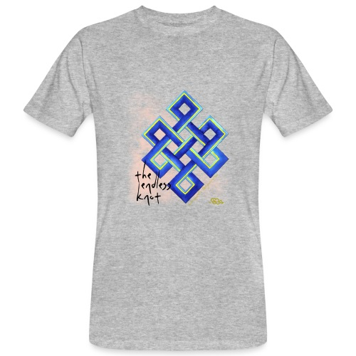 endless knot - Camiseta ecológica hombre
