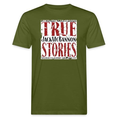Jack McBannon - True Stories (RedWhiteBlack) - Männer Bio-T-Shirt