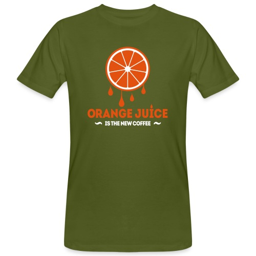 Orange Juice.eps - Mannen Bio-T-shirt