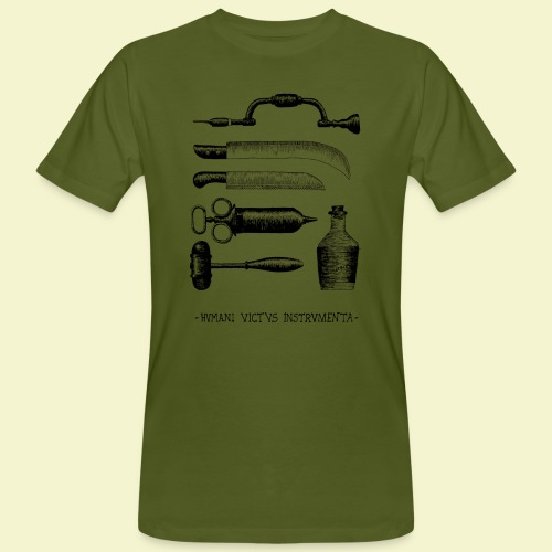 Humani Victus Instrumentia - Black - T-shirt ecologica da uomo