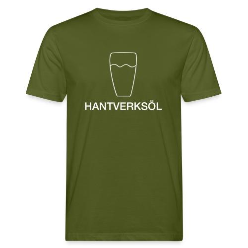 motiv glas hantverksol2 - Ekologisk T-shirt herr