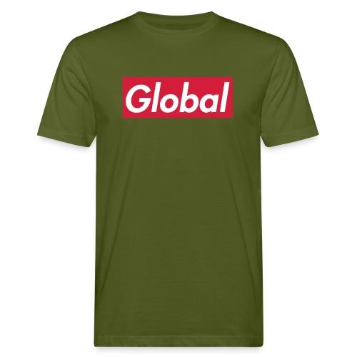 Global - Männer Bio-T-Shirt