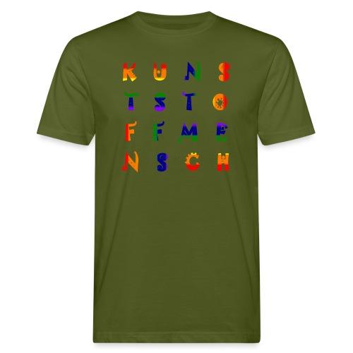 KunstStoffMensch #6 - Rainbow Edition - Männer Bio-T-Shirt