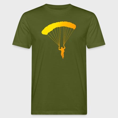 Colorfull Skydiver - Männer Bio-T-Shirt