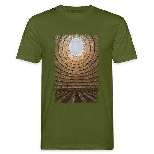 Im Kühlturm - Männer Bio-T-Shirt
