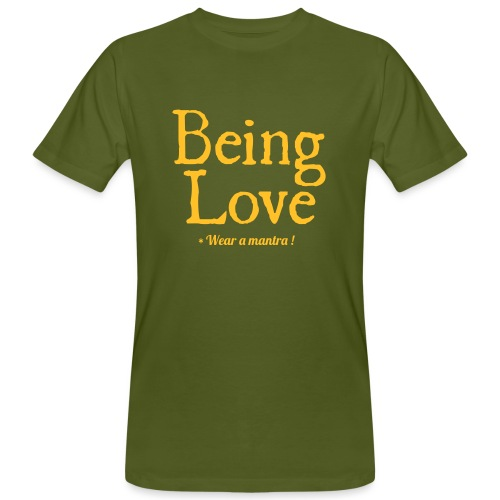 BEING LOVE - T-shirt ecologica da uomo