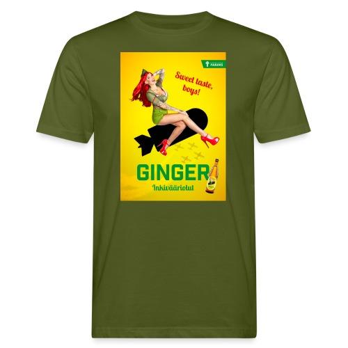 Ginger - Miesten luonnonmukainen t-paita