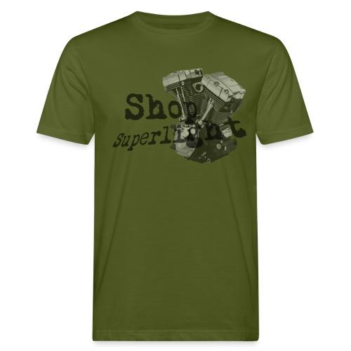ShopSuperlight Logo stor - Organic mænd