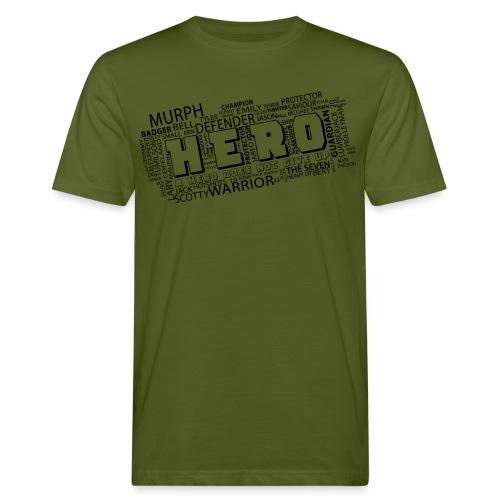 Hero - Männer Bio-T-Shirt
