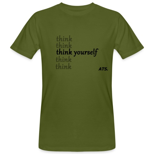 be yourself - Männer Bio-T-Shirt