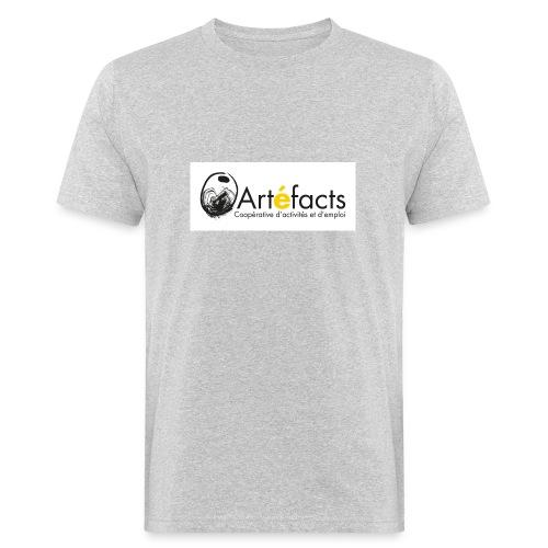 Artefacts logo 1358x560 png - T-shirt bio Homme