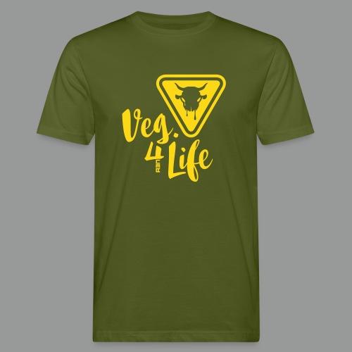 Veg. 4 Life - 1 Color - Männer Bio-T-Shirt