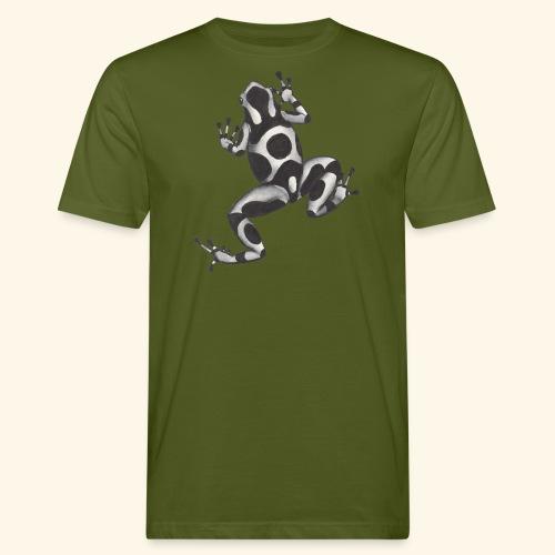 Svartvit groda - Ekologisk T-shirt herr