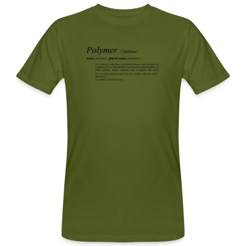 Polymer definition. - Men's Organic T-Shirt