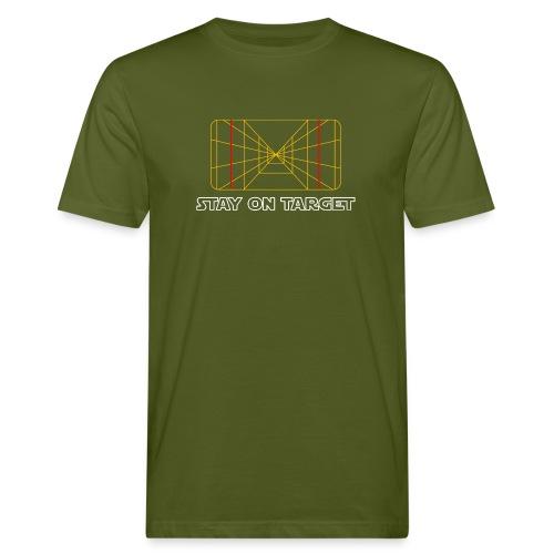 STAY ON TARGET 1977 TARGETING COMPUTER - Miesten luonnonmukainen t-paita