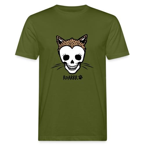 Wild-Katzen-Liebe - Männer Bio-T-Shirt