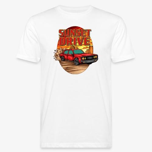 Sunset Drive - Männer Bio-T-Shirt