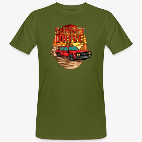 Sunset Drive - T-shirt bio Homme