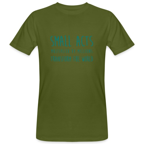 Small Acts - Mannen Bio-T-shirt