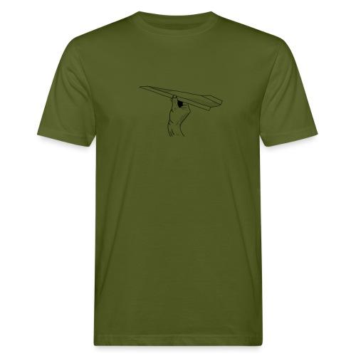 Papierflieger - Männer Bio-T-Shirt