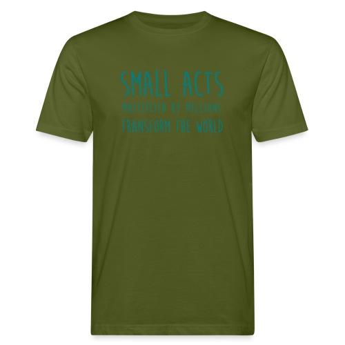 Small Acts - Mannen Bio-T-shirt