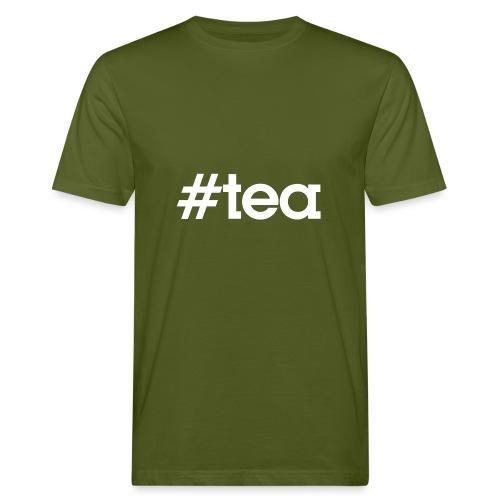 Hashtag Tea - blanc - T-shirt bio Homme