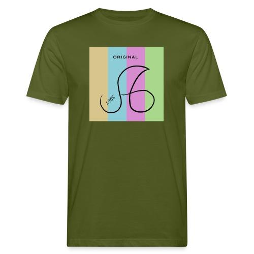 Marken Logo ag 1985 - Männer Bio-T-Shirt