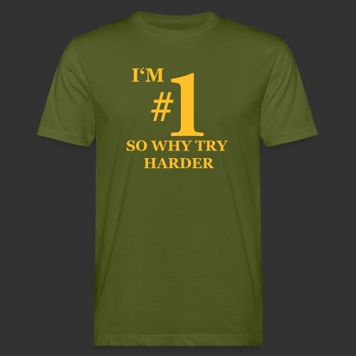 T-shirt, I'm #1 - Ekologisk T-shirt herr