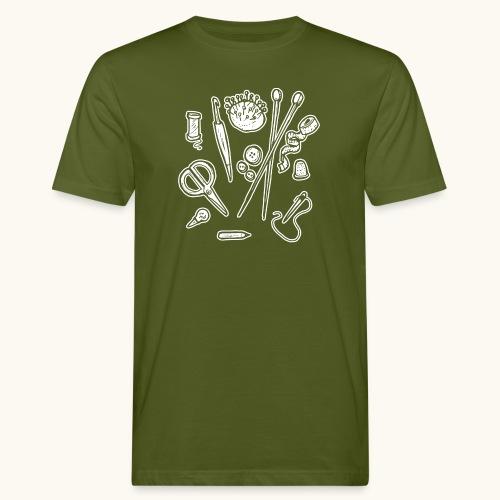 Handarbeiten lustiges Hobby Werkzeuge Geschenk - T-shirt bio Homme