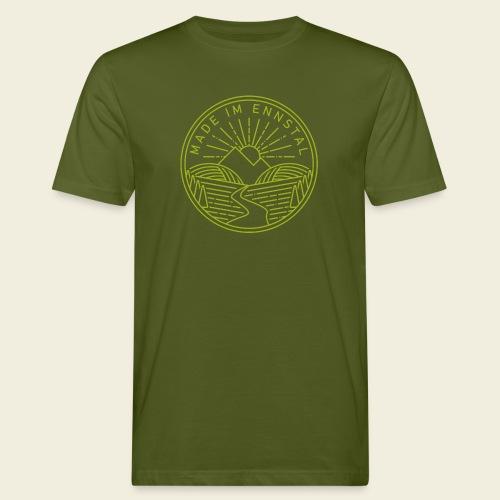 Made im Ennstal, grün - Männer Bio-T-Shirt